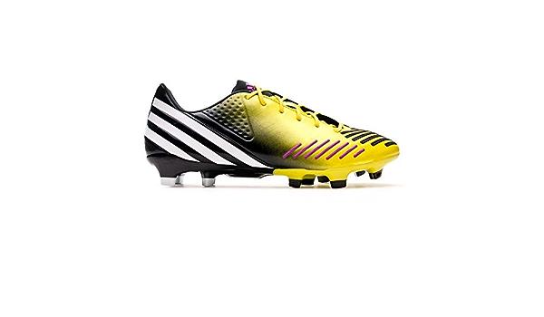 adidas Predator LZ TRX FG, Bota de fútbol, Amarilla-Negra ...