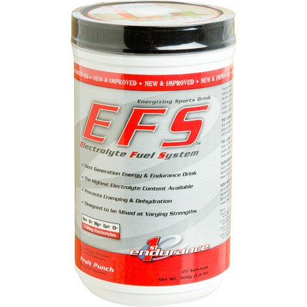 First Endurance EFS Energy and Endurance Drink Mix Fruit Punch, 800g
