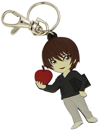 Official Death Note Light /w Apple SD PVC Keychain (GE-3985)