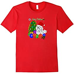 Maltese Dogs Lovers Tshirts Merry Christmas Gift Puppy Love