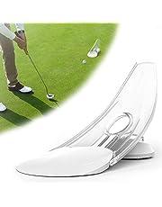 Golf oefenputter | Golf oefenmateriaal | Draagbare golftrainer | Parabolische design golfschoenen | Gereedschap voor binnen en buiten zetten