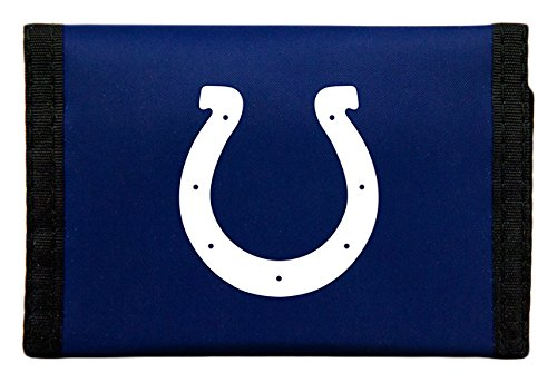 NFL Indianapolis Colts Nylon Trifold Wallet