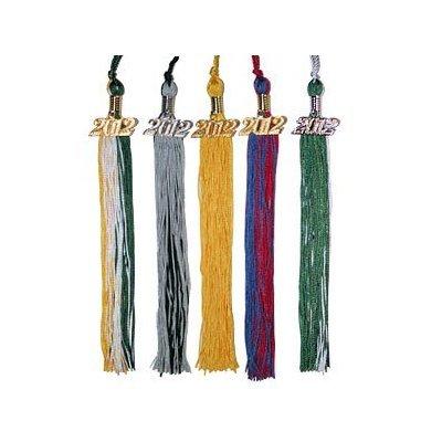 2008 Graduation Tassel - Graduation Tassel with Gold 2008 Charm