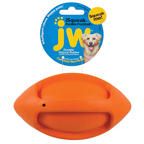 JW Pet Company iSqueak Football product image