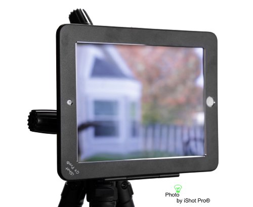 iShot G9 Pro iPad 2 3 4 Gen. Tripod Mount Adapter Holder Attachment - Easily and Safely Mount your iPad 234 to Any 1/4 inch Thread Standard Camera Tripod You Already Use - All Metal Custom Fit Frame by iShot Pro (Image #6)