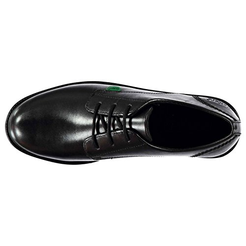 Lachly Kickers Formal Oxford Lace Shoes Black Girls Smart Brogue UpzqR