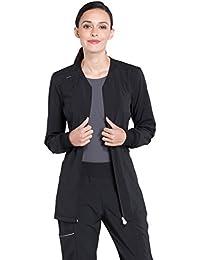 87891884003 Infinity Women's Zip Front Warm-Up Scrub Jacket