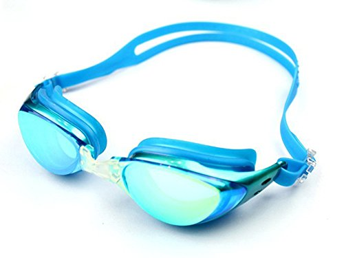 Ispeed Mirror Pro Swim Goggle (Acid Blue)