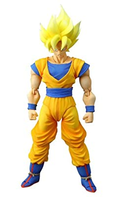 Bandai Tamashii Nations Super Saiyan Son Goku Dragonball Z Sh Figuarts Action Figure by Bandai Tamashii Nations