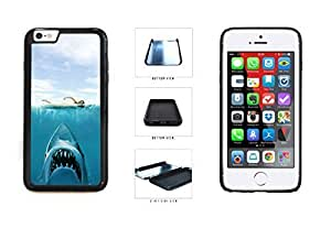 3D programs Shark Attack At Swimmer 2-Piece Dual is Layer Phone simpler Case turned Back Cover For Apple iPhone 6 Plus (5.5 In) Kimberly Kurzendoerfer