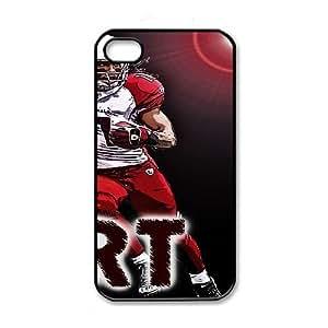 iPhone 4 4s Black Cell Phone Case Arizona Cardinals NFL Custom Cheap Phone Case Cover NLYSJHA2747