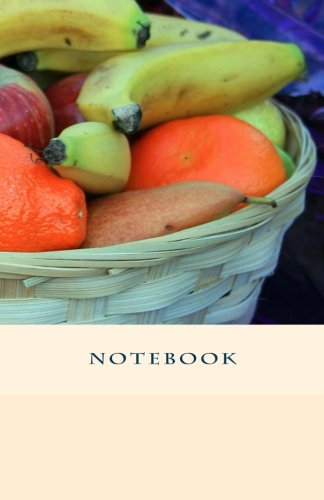 NOTEBOOK - Fruit Basket