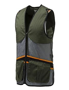 Beretta - Chaleco de Tiro Full Malla Vest Ton Palomas Trap Skeet Competición Verano Chaleco, Color Verde Oliva, tamaño XX-Large: Amazon.es: Deportes y aire ...