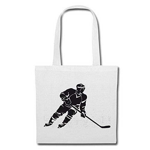 Borsa Borsa Da Hockey Hockey Su Ghiaccio Mazza Da Hockey Su Ghiaccio Bastone Da Hockey Su Ghiaccio Sport Hockey Bastoni Borsa A Tracolla Borsa Da Palestra Borsa Da Ginnastica In Bianco