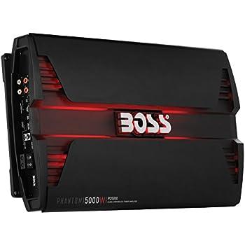 Amazon com BOSS AUDIO PD5000 Phantom 5000 Watt 1 2 4