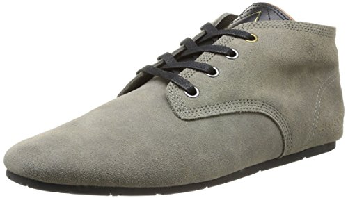 Gris anthracite Homme Basuede Baskets Eleven Mode Paris qxw6OATva