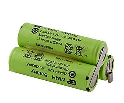 Moser 1871 chromstyle recargable (batería) 3,6 V 1700 mAh NiMH 100%