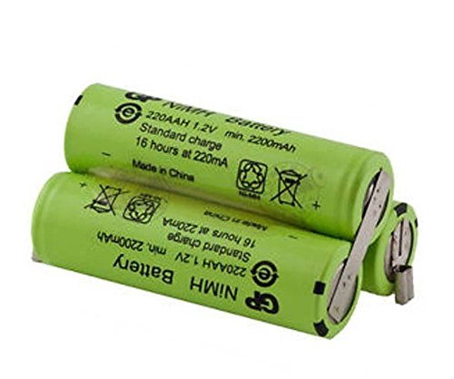 Price comparison product image Moser 1871 Chromstyle Battery (rechargeable) 3.6V 1700mAh NiMH 100% Original New …
