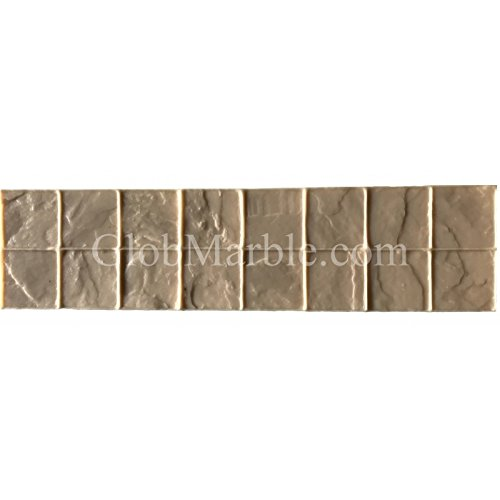 Concrete Stamp Mold SM 2010/F, Floppy Stamp. Slate Stone Border -