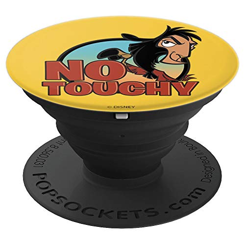 Disney Emperors New Groove Llama Kuzco No Touchy Attitude - PopSockets Grip and Stand for Phones and Tablets