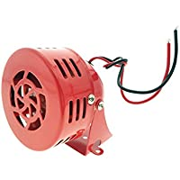 DC 12V Fire Alarm Buzzer Industrial Electronic Wind Screw Motor High Decibel Mini Siren