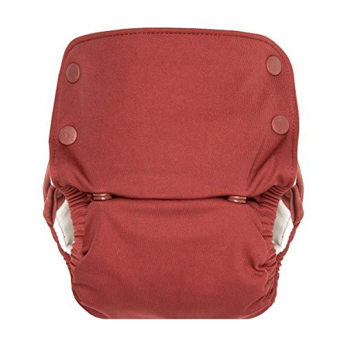 GroVia Reusable All in One Snap Baby Cloth Diaper (AIO) (Marsala)