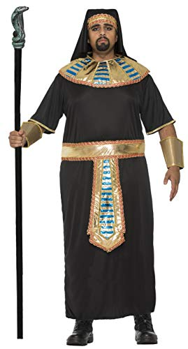 Forum 76055_XL-As-XL Men's Plus-size Egyptian Pharaoh Adult Costume, X-Large, Pack of 1 ()