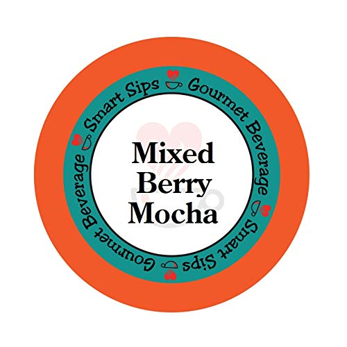 Smart Sips, Mixed Berry Mocha Coffee, 24 Count, Compatible With All Keurig K-cup Brewers