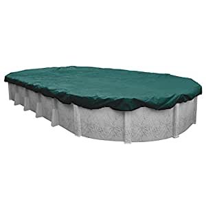 Robelle Supreme Plus/ Premier Winter Cover for Oval Above-Ground Pools Teal
