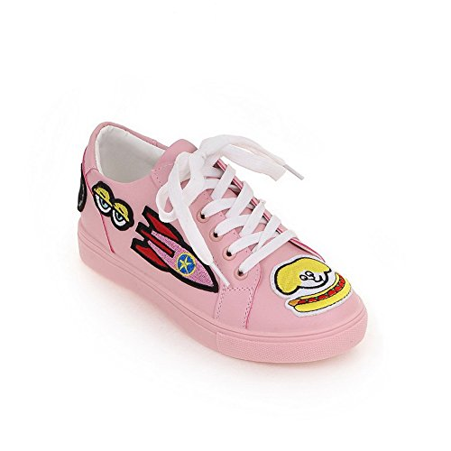 Pink Womens Light Urethane Assorted Weight Toe Color Round A amp;N Walking Shoes wPgqE557