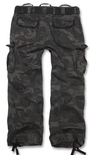 Brandit - Pantalon large Royal Vintage Cargo B-1002 - 100% HOMME - sombre camouflage, XL