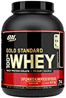Optimum Nutrition Gold Standard 100% Whey Doble Chocolate Bote 5 LB