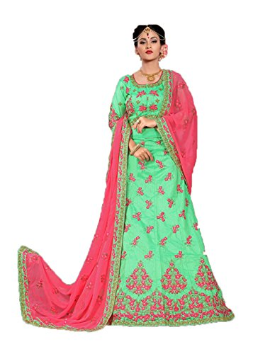 Partywear Ethnic Designer Indian Lehenga Traditional Green Choli Pq5T0RT