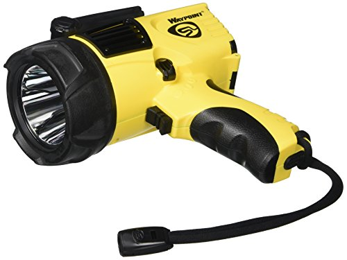 (Streamlight 44900 Waypoint Spotlight with 12V DC Power Cord, Yellow - 550 Lumens)