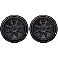 (2) Kicker 43CVR104 10 Dual Voice Coil 4-Ohm Car Stereo Subwoofers Totaling 1600 Watt