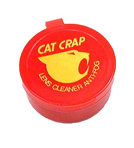 Cat Crap Anti Fog Lens Cleaner for Sunglasses and Googles
