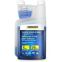 Karcher Car Wash & Wax Soap for Pressure Washers, 1 Quart