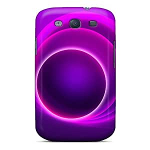 Durable Protector Case Cover With Circular Hot Design For Galaxy S3