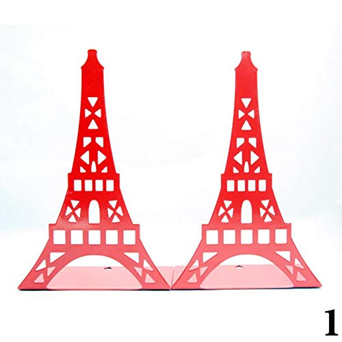 - Bookends | Vividcraft 2Pcs/lot Ramantic Eiffel Tower Bookends Book Stand Paint Iron Student School Office Holder Stand for Books Organizer | by NAHASU