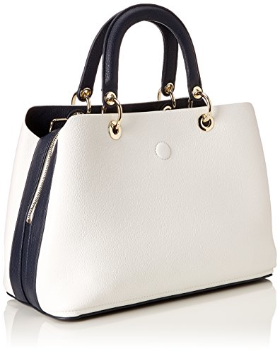 Tommy Hilfiger Th Core Satchel, Borsa Donna Blu (Corporate Mix)