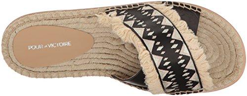 Victoire Espadrille Black Sandal Pour La Women's Pikko 065nqU