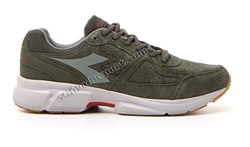 Uomo 172056 Scarpa Grigio Steel 5480 Corsa Diadora 6901 Verde Palestra S Sneakers Running Grey Dk Smoke 8 Shape Eq5dzzx