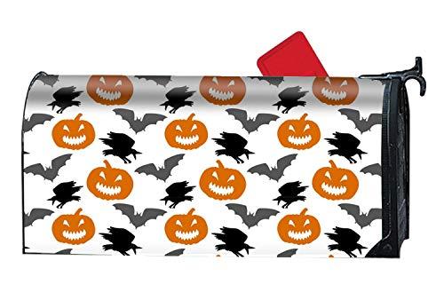 KSLIDS Shimmering Mailbox Makeover Halloween COOL Mailbox Makover Cover Garden,Yard,Home Magnetic