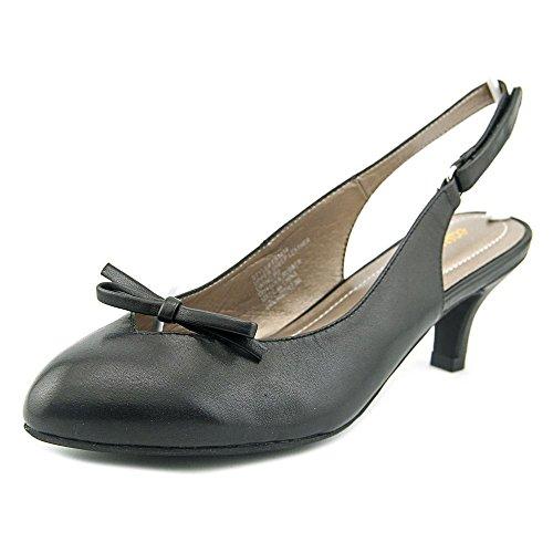 Easy Spirit Womens Ryelee Kitten Heel Slingback Black MktLGU1p
