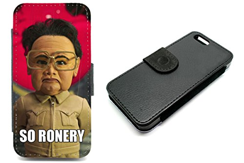 iPhone 6Wallet, Kim Jong Il Telefon Fall Team America Funny SO allein