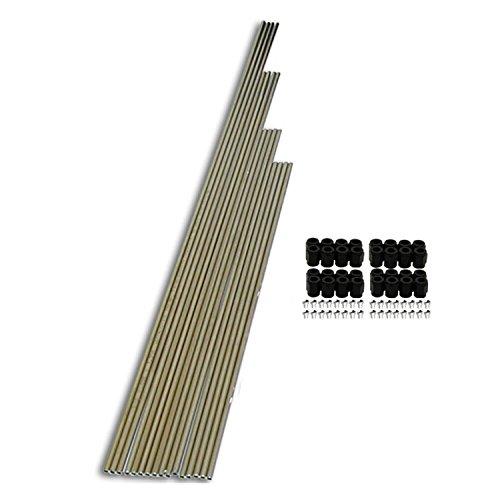 Nitrous Express 80085 8-Cylinder Stainless Tubing Plumbing Kit
