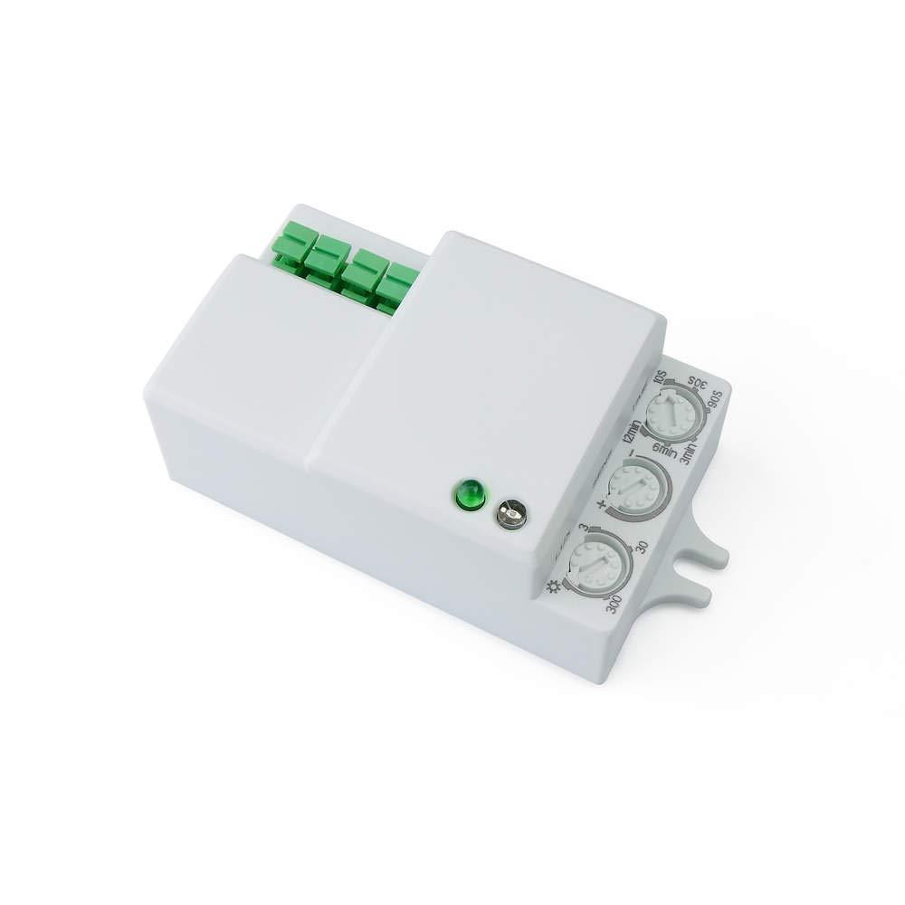 Cablematic - Mini Dé tecteur de Mouvement Compact avec Contrô le du Temps Lumiè re et Distance Cablematic.com PN15121518200127715