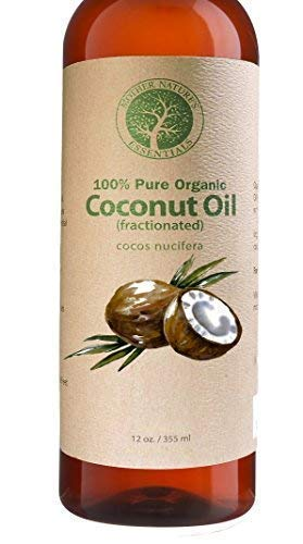 Organic Fractionated Coconut Oil For Skin 100% Pure & Natura