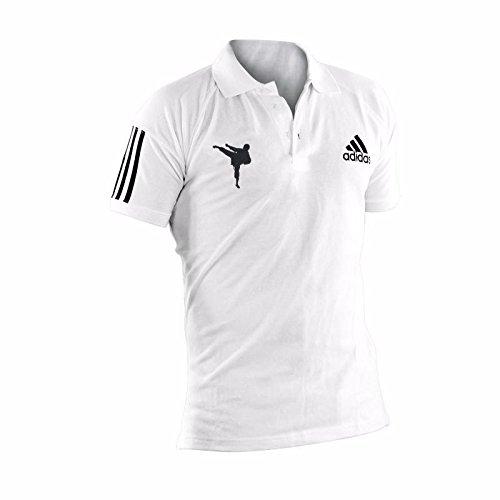adidas - Polo Karate Country Blanc T/XXL