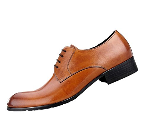 Chaussures Paresseux Pointy Tête zmlsc Chaussures Fond Respirant Brown Souple Casual Net Ronde Business Homme Oxford Haricots Chaussures qwOgB8Xvw